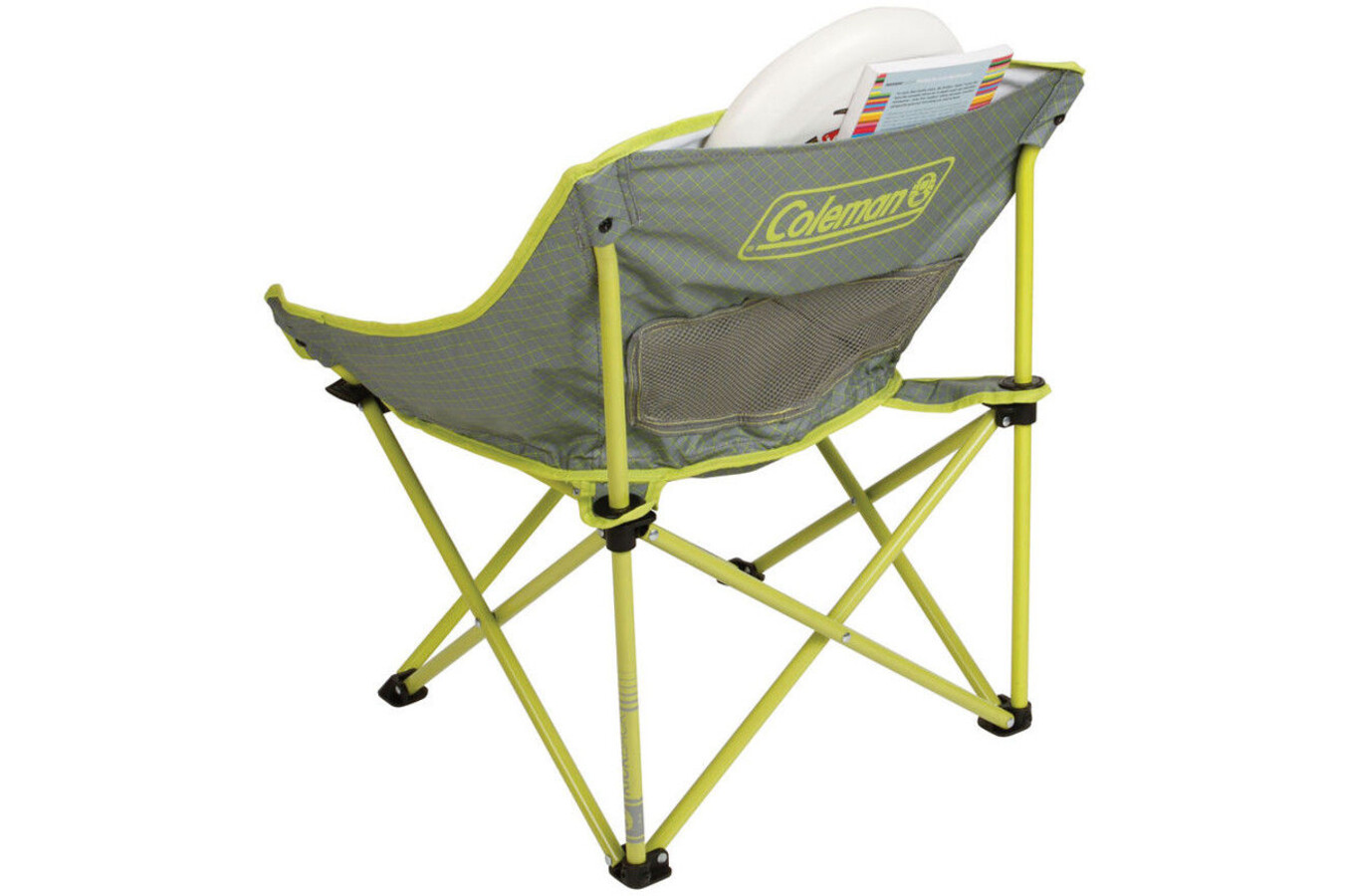 Coleman Kickback Breeze Chair Lime At Addnature Co Uk